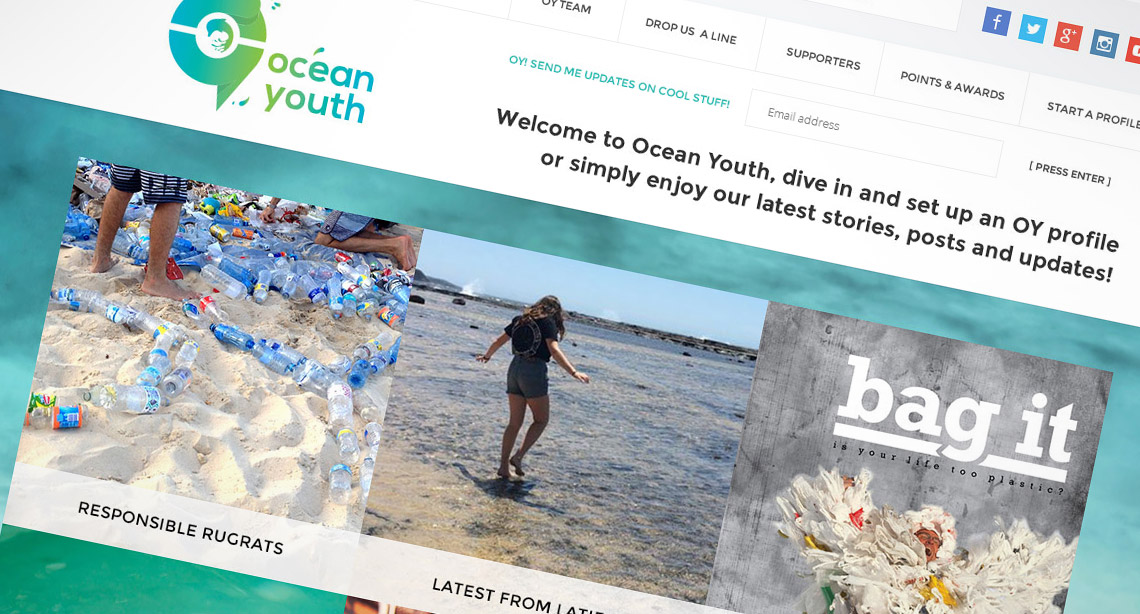 Saving the planets oceans through the youth of today